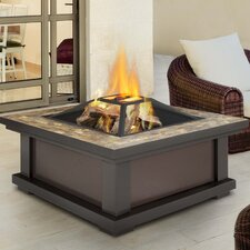 Alderwood Fire Pit Table