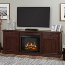 Cassidy Entertainment Unit with Electric Fireplace
