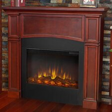 Bradford Slim Wall Mount Electric Fireplace