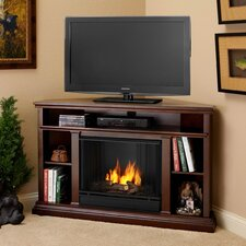 Churchill TV Stand with Gel Fuel Fireplace