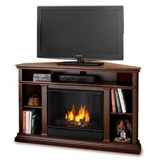 Churchill Ventless TV Stand with Gel Fuel Fireplace