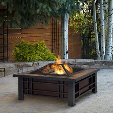Morrison Wood Burning Fire Pit Table