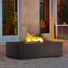 Baltic Steel Natural Gas Fire Pit Table