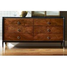 Davenport 6 Drawer Dresser