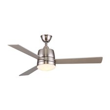 """52"""" Citie 3 Blade Ceiling Fan with Remote"""