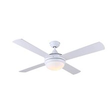"""48"""" Cove 4 Blade Ceiling Fan with Remote"""