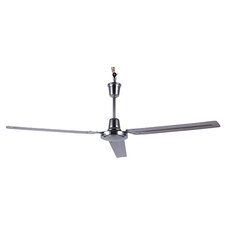 "56"" Industrial 3 Blade Ceiling Fan with Remote"