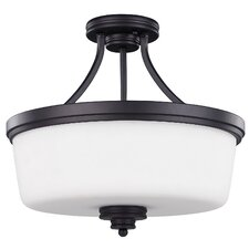 Jackson 3 Light Semi-Flush Mount