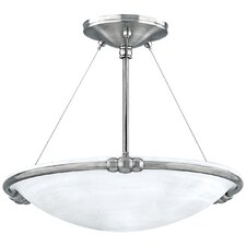 Seville 3 Light Semi Flush Mount