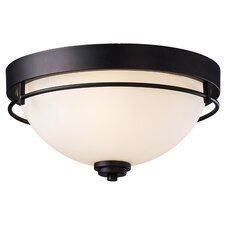 Somerset 3 Light Flush Mount