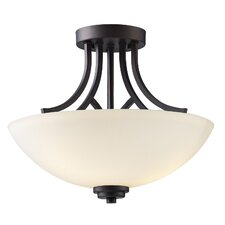 Somerset 3 Light Semi-Flush Mount