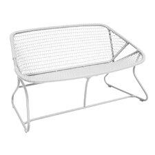 Sixties Aluminum Garden Bench