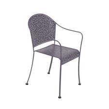 Rendezvous Stacking Dining Arm Chair (Set of 2)