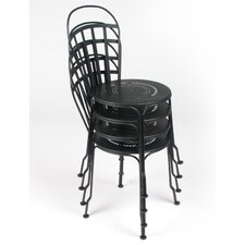 Louvre Stacking Dining Side Chair (Set of 2)