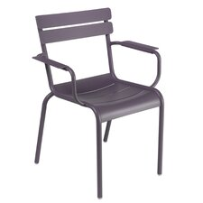 Luxembourg Stacking Dining Arm Chair (Set of 4)