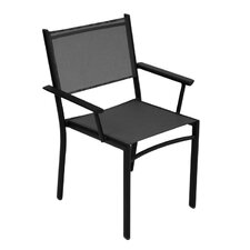 Costa Stacking Dining Arm Chair (Set of 4)