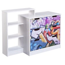 Graffiti 4 Drawer Chest of Drawers