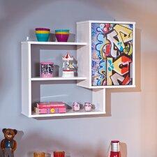 Graffiti Accent Shelf