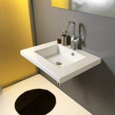 Mars Ceramic Bathroom Sink with Overflow