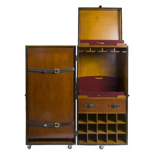 Grand Club Trunk Bar Cabinet
