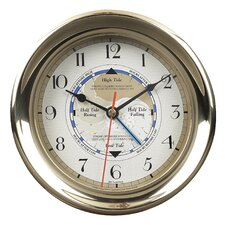 """7.1"""" Captain's Time and Tide Wall Clock"""