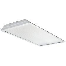 1 Light LED Lay-in Troffer with Prismatic Lens