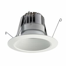 5 in. Matte White Recessed Baffle LED Module 5BPMW LED M6