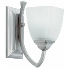 Piedmount Sconce in Brushed Nickel
