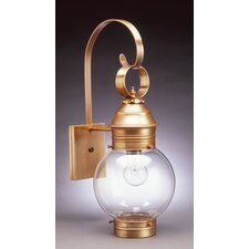 Onion 1 Light Outdoor Sconce