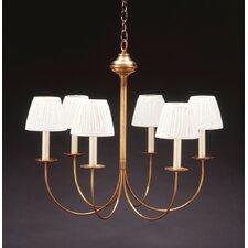 6 Light Candelabra Chandelier