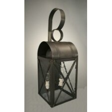 Adams 2 Light Outdoor Wall Lantern