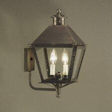 Jamestown 2 Light Outdoor Wall Lantern