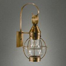 Onion 1 Light Outdoor Wall Lantern
