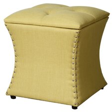 Amelia Upholstered Storage Ottoman