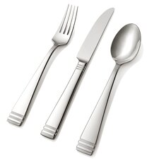 Hampton Silversmiths 45 Piece Mercer Flatware Set