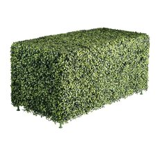 Faux Boxwood Low Rectangular Hedge
