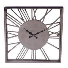 Fall Aluminum Relief Numeral Clock