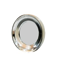 Foil Round Wall Mirror