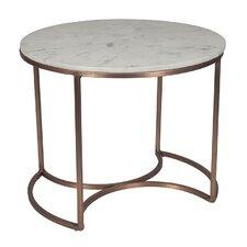 Metal/Marble Orbit Table