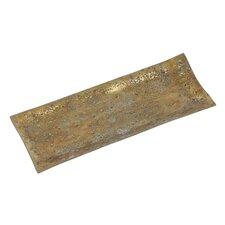 Rough Cast Aluminum Rectangular Tray