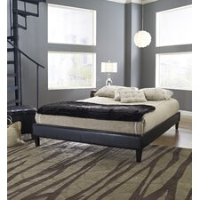 Adams Padded Upholstered Platform Bed