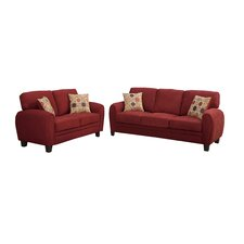 Bobkona Torranceb  Sofa and Loveseat Set