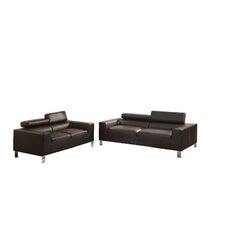 Bobkona Ellis Sofa and Loveseat Set