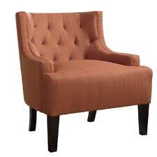 Bobkona Ansley Blended Linen Arm Chair