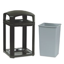 35-Gal Landmark Series Classic Dome Top Receptacle