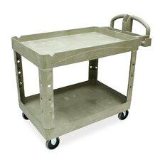 "26"" 2 Shelf Utility Cart"