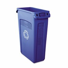 Slim Jim® Plastic Recycling 23-Gal Curbside Recycling Bin