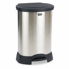 Commercial Step-On 30-Gal Trash Container