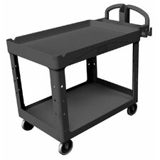 Duty Lipped Shelves Utility Cart