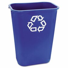 Large Deskside Rectangular Recycle Container